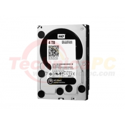 Western Digital Caviar 4TB SATA Black WD4001FAEX HDD Internal 3.5""