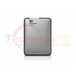 """Western Digital My Passport Mac 500GB USB3.0 WDBLUZ5000ASL-PESN HDD External 2.5"""""""