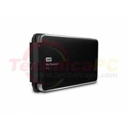 Western Digital My Passport Pro 2TB USB2.0 WDBRMP0020DBK-PESN HDD External 2.5""