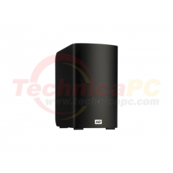 Western Digital My Book Velociraptor Duo 2TB WDBUWZ0020JBK-SESN HDD External 3.5""