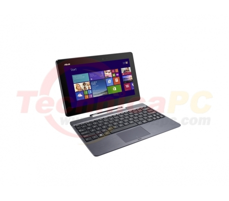 "Asus Transformer Book T100TA-DK005H Z3740 2GB 500GB + 32GB MMC 10.1"" Gray Netbook Laptop"