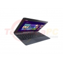 "Asus Transformer Book T100TA-DK007H Z3740 2GB 500GB + 64GB MMC 10.1"" Gray Netbook Laptop"