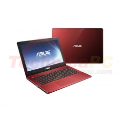 "Asus A450CA-WX103D Celeron 1007U 500GB 2GB 14"" Red Notebook Laptop"