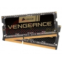 Corsair SODIMM DDR3 16GB (2x8GB) 1600MHz PC-12800 Vengeance CMSX16GX3M2A1600C10 Laptop Memory