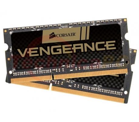 Corsair SODIMM DDR3 8GB (2x4GB) 1600MHz PC-12800 Vengeance CMSX8GX3M2A1600C9 Laptop Memory