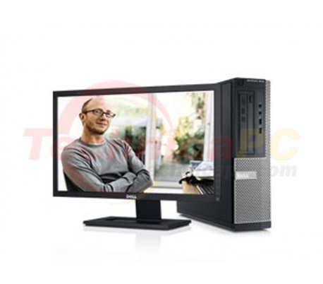 "DELL Optiplex 3010SFF (Small Form Factor) Core i3-3240 2GB 500GB LCD 18.5"" Desktop PC"