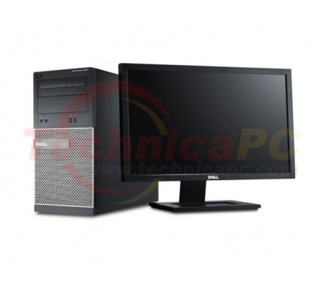 "DELL Optiplex 7010MT (Mini Tower) Core i5-3570 4GB 500GB Windows 7 Professional LCD 18.5"" Desktop PC"