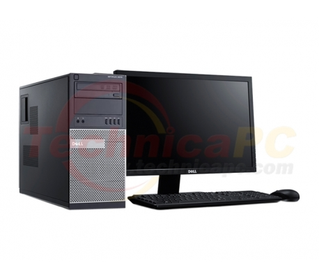 "DELL Optiplex 9020MT (Mini Tower) Core i7-4770 8GB 1TB VGA 1GB Windows 7 Professional LCD 18.5"" Desktop PC"