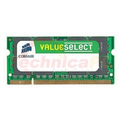 Corsair SODIMM DDR2 4GB (2x2GB) 667MHz PC-5300 VS4GSDSKIT667D2 Laptop Memory