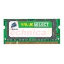 Corsair SODIMM DDR2 1GB 667MHz PC-5300 VS1GSDS667D2 Laptop Memory