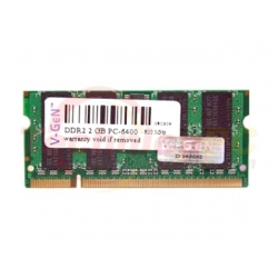 V-Gen SODIMM DDR2 1GB 800MHz PC-6400 Laptop Memory