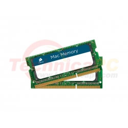 Corsair SODIMM DDR3 Mac 8GB (2x4GB) 1066MHz PC-8500 Apple Mac CMSA8GX3M2A1066C7 Laptop Memory