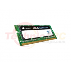 Corsair SODIMM DDR3 Mac 4GB 1333MHz PC-10600 Apple Mac CMSA4GX3M1A1333C9 Laptop Memory