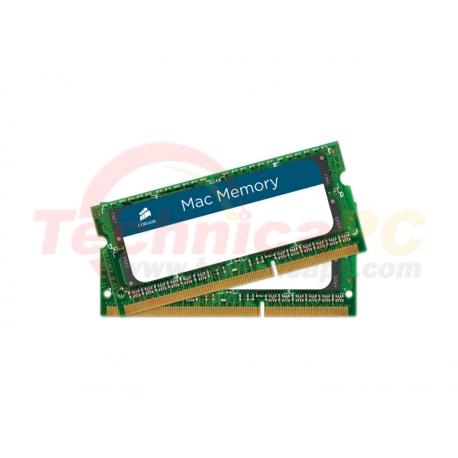 Corsair SODIMM DDR3 Mac 8GB 1333MHz PC-10600 Apple Mac CMSA8GX3M1A1333C9 Laptop Memory