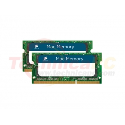 Corsair SODIMM DDR3 Mac 8GB 1600MHz PC-12800 Apple Mac CMSA8GX3M1A1600C11 Laptop Memory