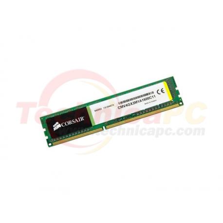 Corsair DDR3 4GB 1600MHz PC 12800 CMV4GB3M1A1600C11 PC