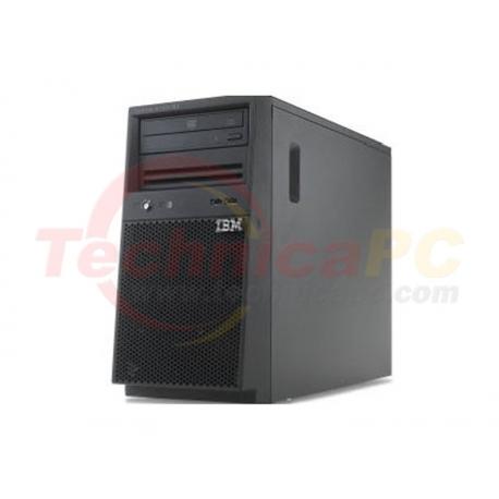 IBM System X3100 M5 5457-A3A Intel Pentium G3440 4GB 500GB SATA Tower Server