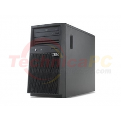 IBM System X3100 M5 5457-C3A Intel Xeon E3-1231v3 4GB 500GB SATA Hot Swap Tower Server