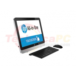 "HP 22-2000D Core i3-4160T LCD 21.5"" All-In-One Touchsreen Desktop PC"
