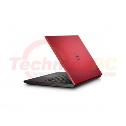 "DELL Inspiron 3442 Celeron 2957U 2GB 500GB Windows 8.1 SL 14"" Red Notebook Laptop"