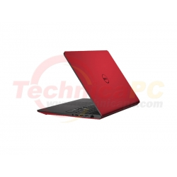 "DELL Inspiron 14 5447 Core i3-4030U 4GB 500GB 14"" Red Notebook Laptop"