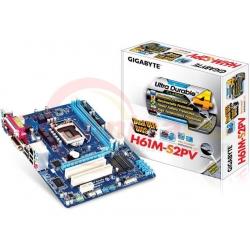 Gigabyte GA-H61M-S2PV Socket LGA1155 Motherboard