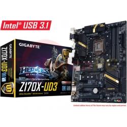 Gigabyte GA-Z170X-UD3 Socket LGA1151 Motherboard