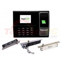 FingerSpot Revo-155BNC + Electric Bolt 100 FingerPrint