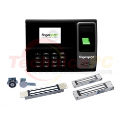 FingerSpot Revo-155BNC + Magnetic Lock 180 FingerPrint