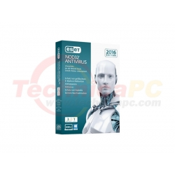 Eset NOD32 3Users Antivirus Software