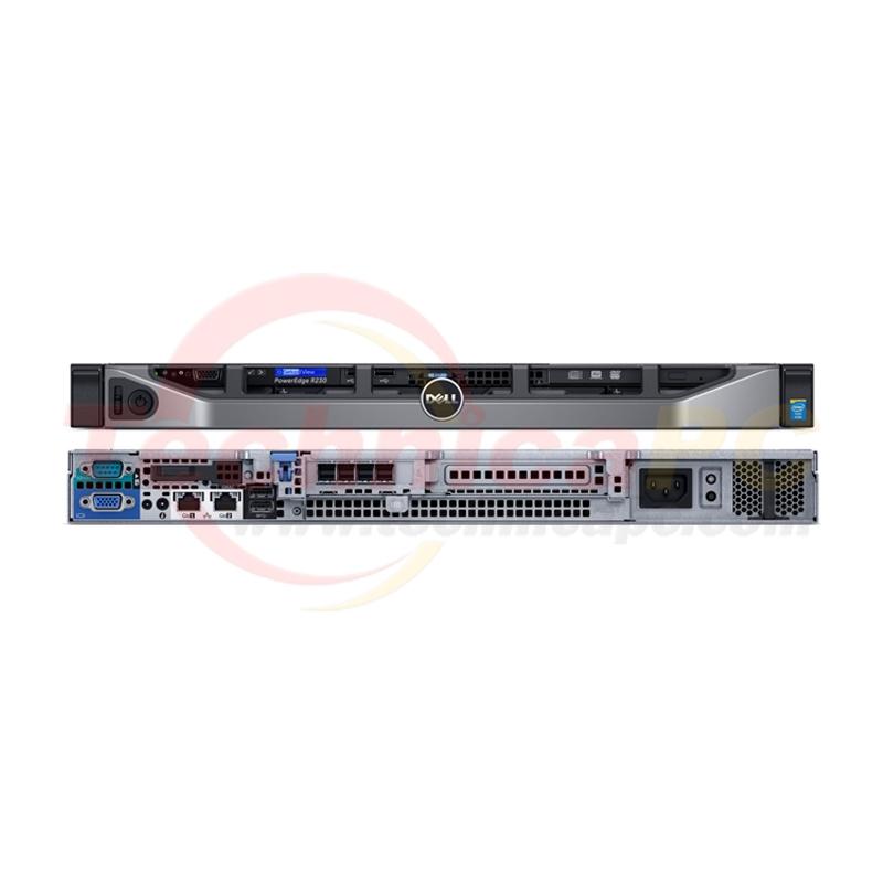 DELL PowerEdge R230 Intel Xeon E3-1220 8GB 1x2TB NL SAS 1U Rackmount Server