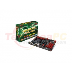Biostar TA970 Socket AM3+ Motherboard