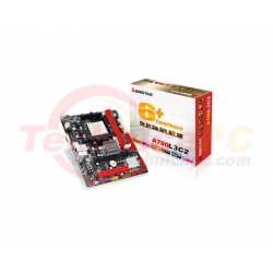 Biostar A780L3C2 Socket AM3 Motherboard