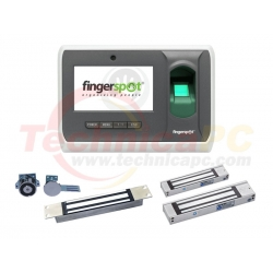 FingerSpot Revo 156BNC with Magnetic Lock Fingerprint