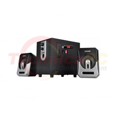 Dazumba DW 166 Silver 15W RMS 2.1 Speaker