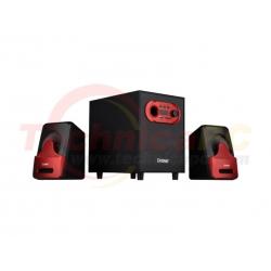 Dazumba DW 166-G Red 15W RMS 2.1 Speaker