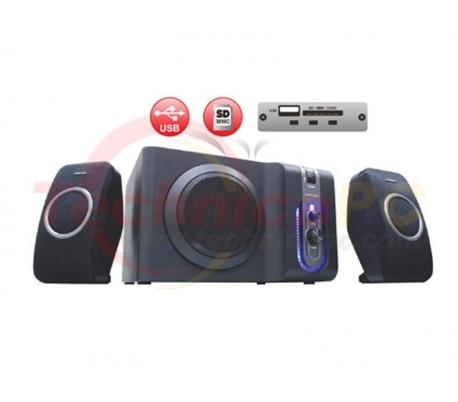 Simbadda CST 1600N 32W RMS SDCARD USB 2.1 Speaker