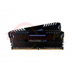 Corsair Vengeance LED DDR4 16GB (2x8GB) Blue LED CMU16GX4M2C3200C16B 3200MHz PC4-25600 PC Memory