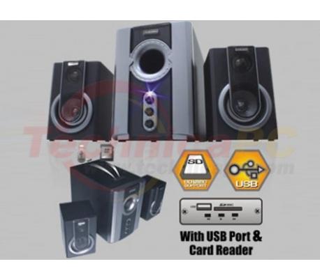 Simbadda CST 1750N 40W RMS SDCARD USB 2.1 Speaker