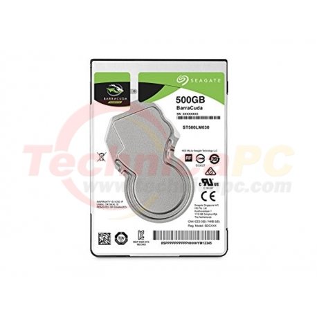 "Seagate Baracuda 500GB SATA 5400RPM HDD Internal 2.5"""