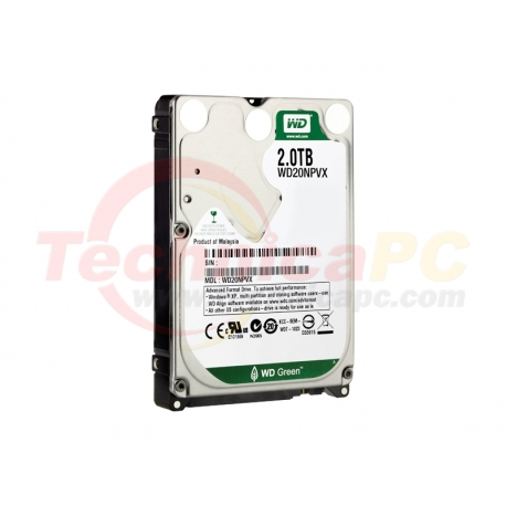 Western Digital Scorpio 2TB SATA WD20NPVX HDD Internal 2.5""