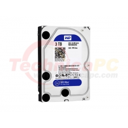 Western Digital Blue 3TB SATA3 WD30EZRZ HDD Internal 3.5""