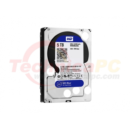 Western Digital Blue 5TB SATA3 WD50EZRZ HDD Internal 3.5""