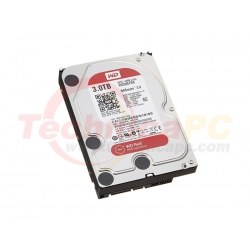 Western Digital Red 3TB SATA3 WD30EFRX HDD Internal 3.5""