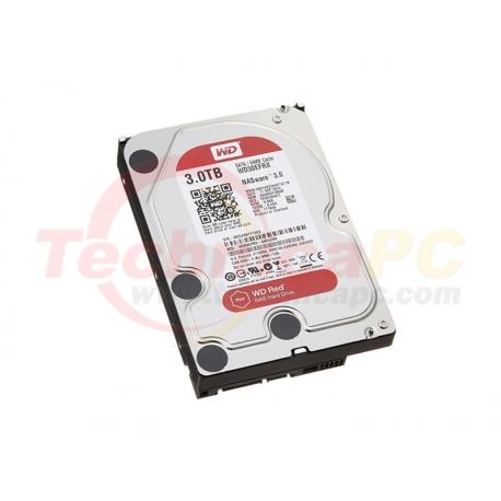 """Western Digital Red 3TB SATA3 WD30EFRX HDD Internal 3.5"""""""