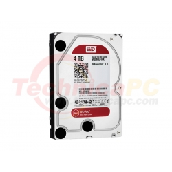 Western Digital Red 4TB SATA3 WD40EFRX HDD Internal 3.5""