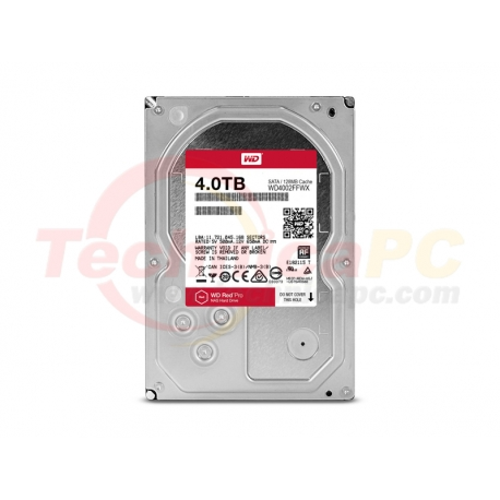 Western Digital Red PRO 4TB SATA3 WD40002FFWX HDD Internal 3.5""