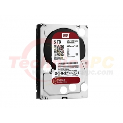 Western Digital Red 5TB SATA3 WD50EFRX HDD Internal 3.5""