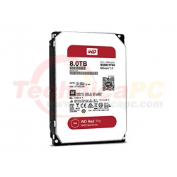 Western Digital Red PRO 8TB SATA3 WD8001FFWX HDD Internal 3.5""