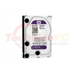 "Western Digital Purple 3TB SATA3 WD30PURX HDD Internal 3.5"""